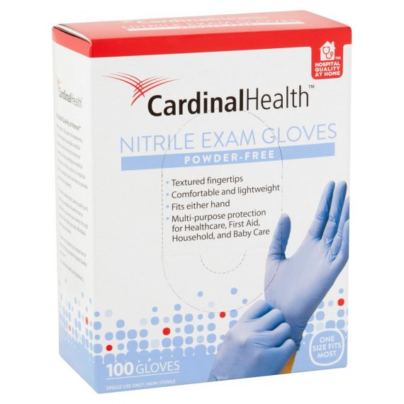 Cardinal Nitrile Exam Gloves, 100 count - BuyDirectly